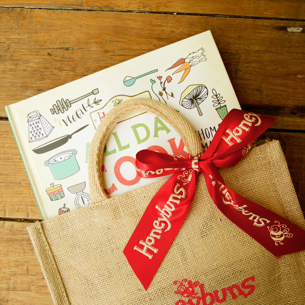 Honeybuns All Day Cook Book gift bag