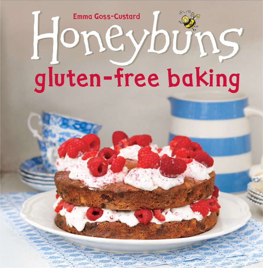 Honeybuns gluten free baking book front cover