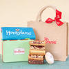 Gluten free cakes, gift tin and bag