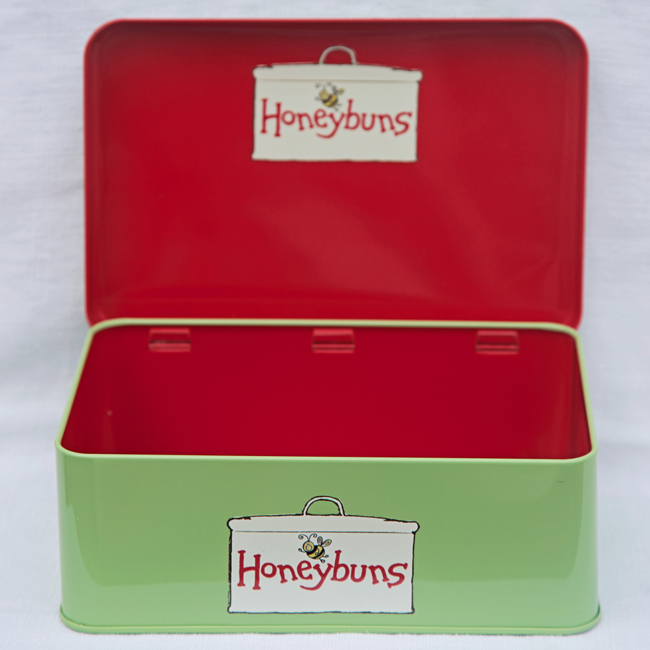 Honeybuns Green Cake Tin