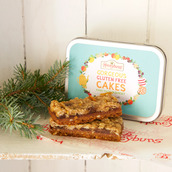 Mincemeat Crumble Slice stocking filler