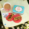 This super cute tea party in a tin makes the cutest gluten free afternoon tea gift