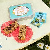 Gluten free flapjacks for the sweetest Tea Party in a tin gift