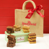 gLUTEN FREE CAKES IN CHARMING GIFT TIN AND GIFT BAG