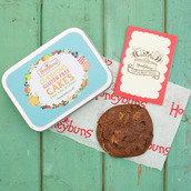 Gift tin and gluten free chocolate cookie