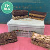 A gorgeous gift tin filled with a selection of gluten free and vegan friendly handmade cakes