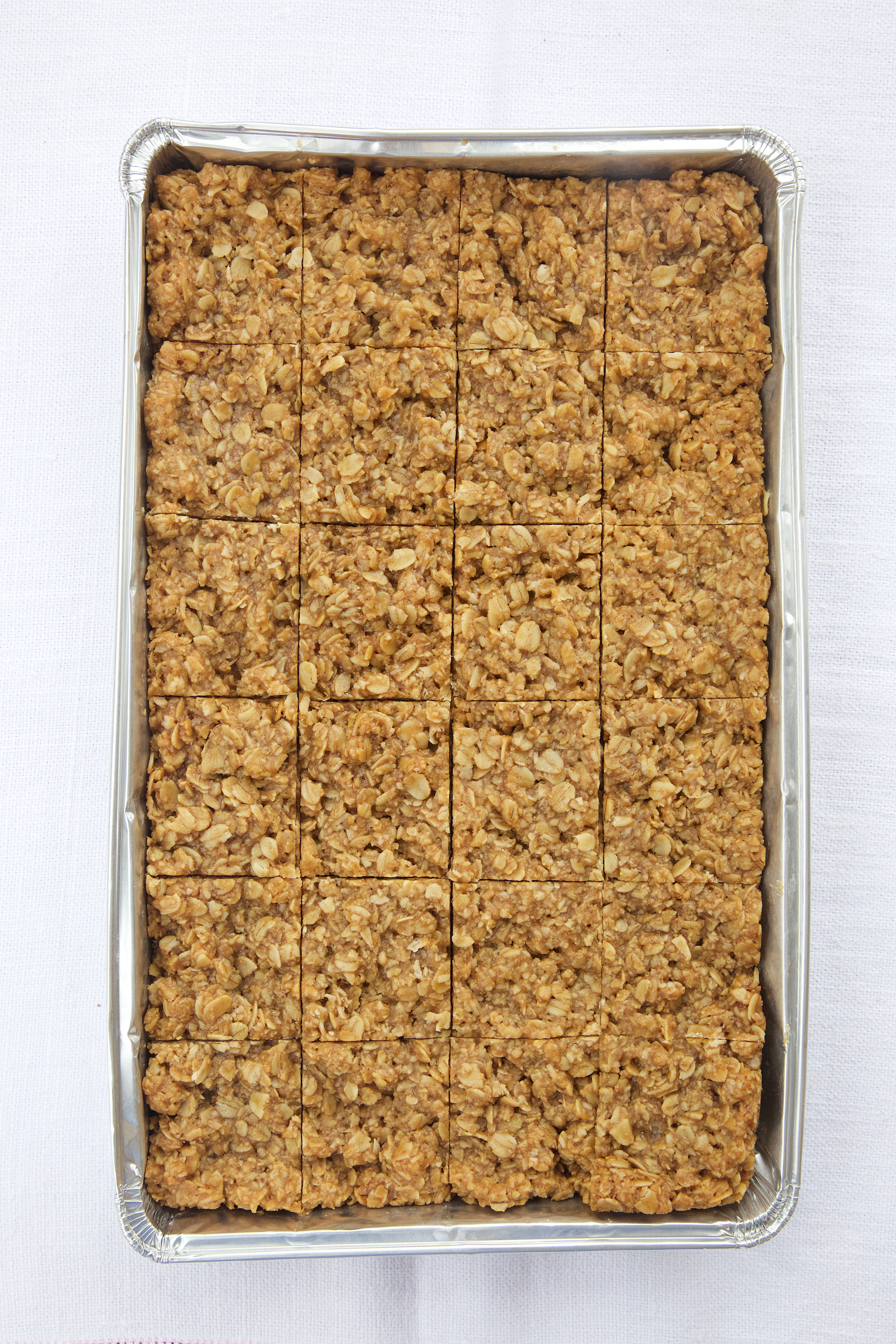 Special offer Oaty Coconut Bar pre-cut into 24 pieces