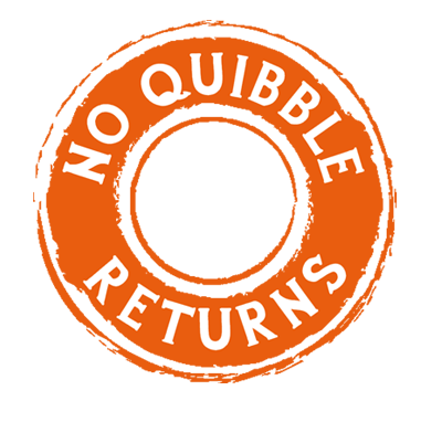 No quibble guarantee
