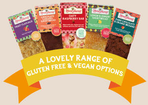 Gluten free and vegan cakes for foodservice in the UK